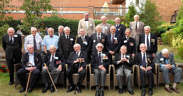 The veterans at the 2011 reunion.